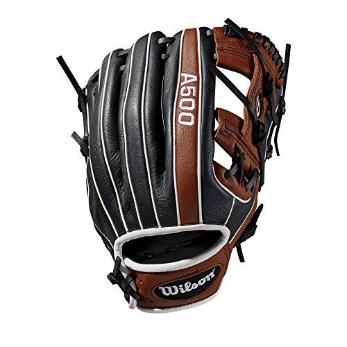Wilson Sporting Goods 2019A500Baseball Handschuh-Links Hand, Überwurf Kupfer/blond, 29,2cm