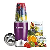 NutriBullet 600 Series 5 Piece Set Nutrition Extractor Juicer, Blender with Natural Healing Foods Book (As Seen on High Street TV)