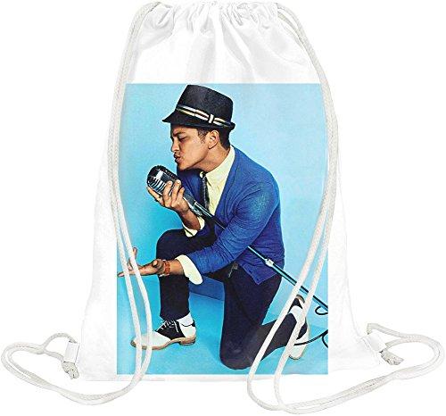 Bruno Mars Singing Drawstring bag (Unorthodox Jukebox-vinyl)