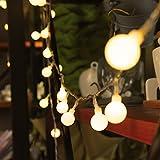 Innoo Tech Indoor Fairy Lights 100 Led Globe String Festoon Party Lighting Warm White for Patio Christmas Wedding Bedroom Bild 4