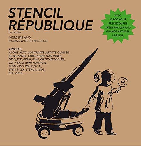 Stencil République par Collectifs