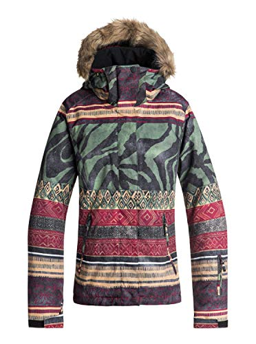 Roxy Damen Jet Ski Se Snow Jacket, Multicolored, S (Roxy Snowboard-jacke)