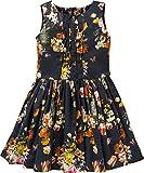 Jottum Mädchen Kleid, Dunkelblau, Größe 128