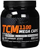 Olimp TCM 1100 Mega Caps | Tri Creatine Malate | 100 Portionen | 400 Kapseln, 1er Pack (1 x 520 g)