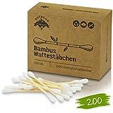 Bambus Wattestäbchen 200 Vegan &
