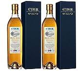 Etter Söhne AG Distillerie Zug Obstbrand aus der Schweiz 2er Sparpack Etter Vieille Poire Williams in Geschenkverpackung (2 x 0,7 Liter)