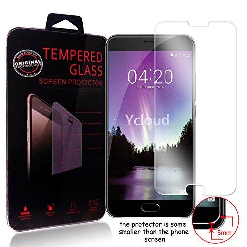 Ycloud Panzerglas Folie Schutzfolie Bildschirmschutzfolie für Meizu MX6 screen protector mit Härtegrad 9H, 0,26mm Ultra-Dünn, Abger&ete Kanten