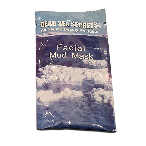 DEAD SEA SECRETS Authentische Totes Meer Schlamm-Maske aus Israel: 1 Totes Meer Schlamm Gesichts Maske – Haut Reinigung System – Detox reinigen Peeling verjüngen