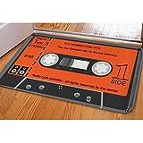 showudesigns Retro Home Nostalgie Tape carprt Fußmatte Outdoor Teppiche, Flanell, color 4, S