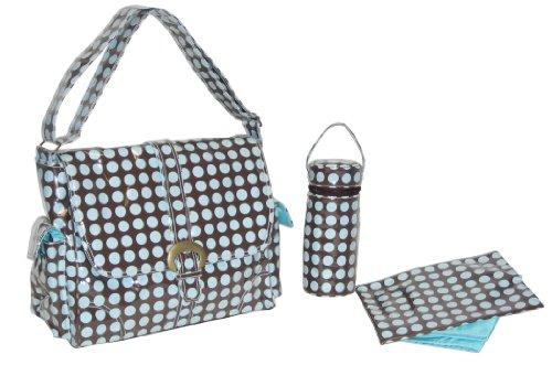 kalencom-fashion-bolso-cambiador-con-accesorios-diseno-de-lunares-color-marron-y-azul