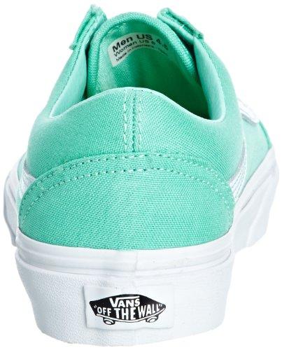 Vans U Old Skool Dress Blues/Neo, Sneaker Unisex – Adulto Verde (biscay green/true white)