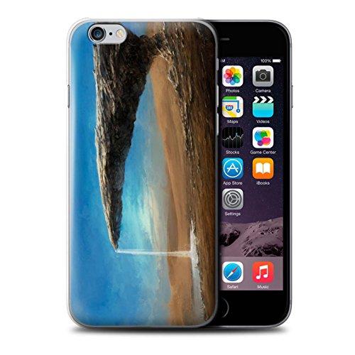 Offiziell Chris Cold Hülle / Case für Apple iPhone 6S / Exoplanet Muster / Galaktische Welt Kollektion Exoplanet