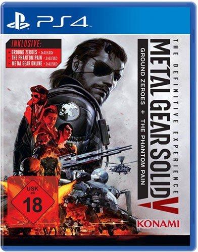 MGS 5 PS-4 Definitive Exp. Metal Gear Solid 5 + Ground Zeroes + DLC [Importación alemana]