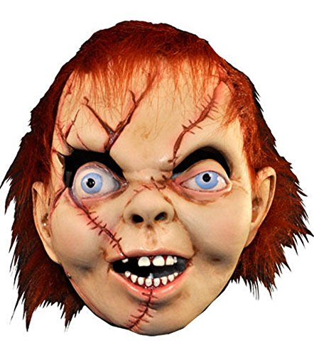 Child's Play The Bride Of Chucky: Chucky Latex (Masken Doll Scary)