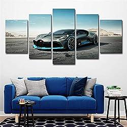 5 Conseil d'administration Bugatti Voiture de Sport Cool Mode Maison Mur décoratif résidence de L'Artiste décoration Photo HD sans Cadre Photo Affiche