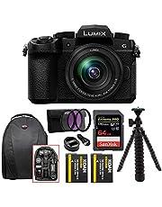 Panasonic Lumix G DC-G95 with 12-60mm Lens, 20.3 Megapixels,4K Photo, Wi-Fi and Bluetooth, Black