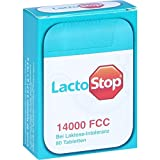 LactoStop 14,000 FCC Tablets in Dispenser Pack of 80