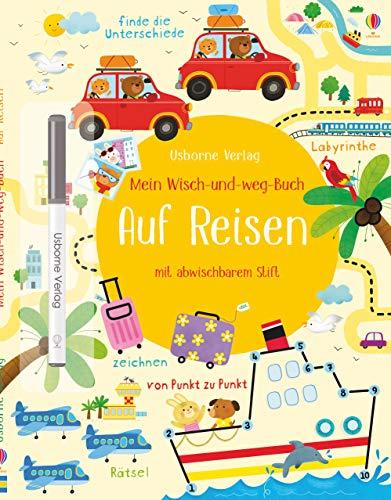 Mein Wisch-und-weg-Buch: Auf Reisen: mit abwischbarem Stift