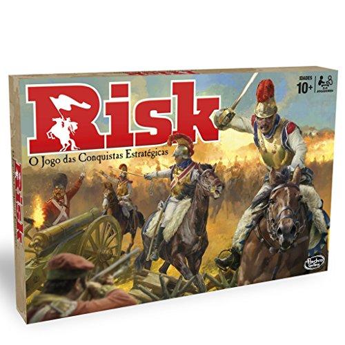 Hasbro Gaming- Gaming Clasico Risk Versión Portuguesa