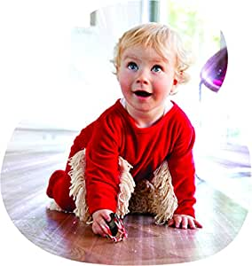 BABYMOP - Your Baby Helps Cleaning the House. Great Combo: Cleaning Mop + Rompers = BABYMOP!