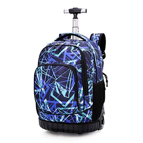 """Trolley Rucksack Schulrucksack Kinder Multifunktionaler Rucksack Schultaschen Koffer 18\"""" Laptop Reise Schule Geschäft Rucksack Für Jungen und Mädchen"""
