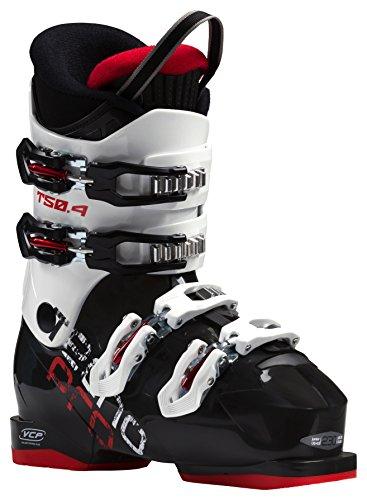 Tecnopro Kinder Ski-Stiefel T50-4 Skistiefel, schwarz/Weiß, 25
