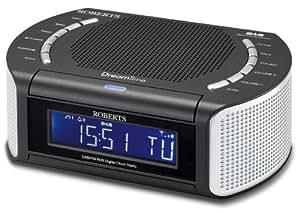roberts dreamtime dab fm rds digital clock radio with dual. Black Bedroom Furniture Sets. Home Design Ideas