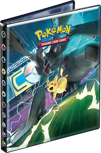 Kapazität Karte (Pokemon Notizheft, Sonnenauflage, Mond Duo, Schock (SL09) - Kapazität 80 Karten, 85879, Sammeln)