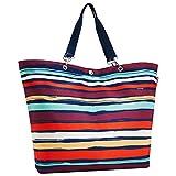 Reisenthel Shopper XL Artist Stripes - Schultertasche Umhängetasche Strandtasche
