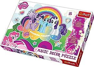 TREFL - Puzzle My Little Pony de 15 Piezas (39.8x26.6 cm) (14605) (Importado)