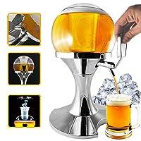 Tireuse à bière sferico avec compartiment glaçons de 3.5litres, distributeur de bière et d'autres boissons, maintient les liquides au frais, distributeur et refroidisseur de boisson et bièreCaractéristiques-peut être utilisé comme un distributeur ...