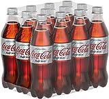 Coca-Cola Light Taste, Erfrischendes Softgetränk in praktischen Flaschen - Coca-Cola Geschmack ohne Kalorien, EINWEG Flasche (12 x 500 ml)