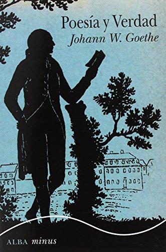 Poesía y verdad (Minus) por Johann Wolfgang Goethe
