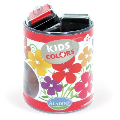 Candy Scrapbooking (Aladine 03370 - Stampo Colors Candy, Stempelkissen, 10 verschiedenen Farben)