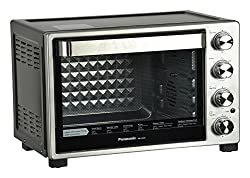 Panasonic NB-H32000 SSM 32 Litre 1500 Watt Oven Toaster Grill with Rotisserie (Silver)
