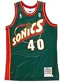 Shawn Kemp Seattle Supersonics Mitchell & Ness Authentic 1995 Road NBA Jersey Trikot