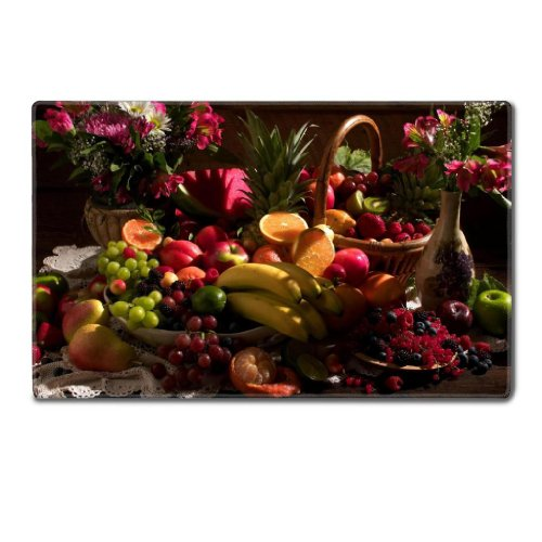 fruits-food-summer-harvest-bananas-oranges-lemon-pears-table-mats-customized-made-to-order-support-r