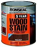 Ronseal 2.5L 5 Year Woodstain - Walnut