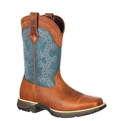 Durango Boots , Bottes et bottines cowboy femme Brown Teal (Weite M)