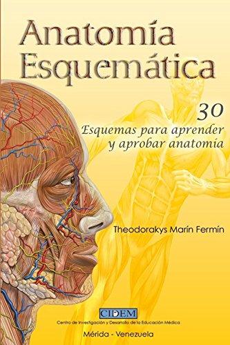 Anatomia Esquematica: 30 esquemas para aprender y aprobar anatomía por Theodorakys Marín Fermín