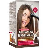 Kativa Keratina levigatura brasiliano senza formol capelli tinti Nero/Marrone