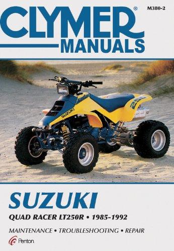 Clymer Suzuki Quad Racer LT250R 1985-1992 (Clymer Manuals: Motorcycle Repair) por Penton