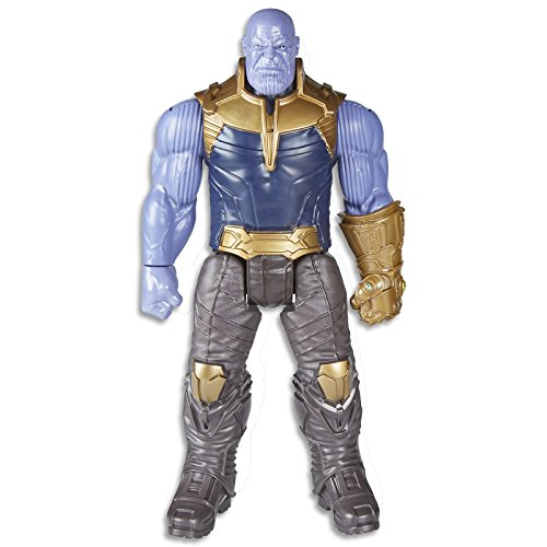 Marvel Infinity War Titan Hero Series - Thanos with Titan Hero Power FX Port  (Multi Color)
