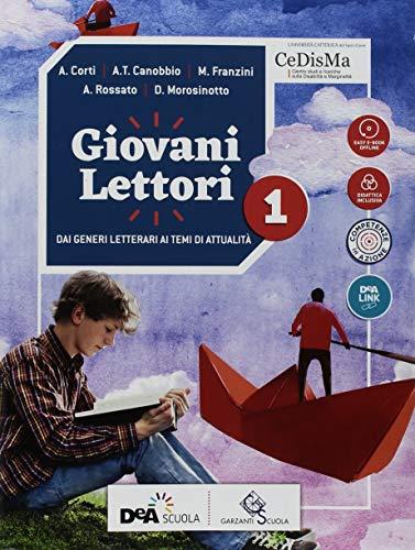 Giovani lettori-Giovani scrittori. Con Mito ed epica ed Easy eBook (su dvd). Per la Scuola media. Con ebook. Con espansione online. Con DVD-ROM: 1