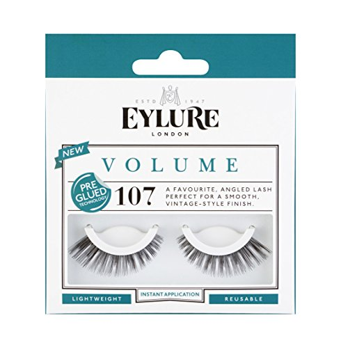 Eylure Volume Pre-Glued Lashes Number 107 by Eylure
