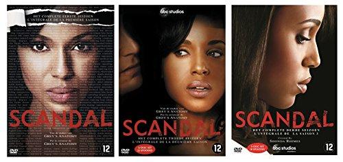 Scandal - L'intégrale des saisons 1 , 2 et 3