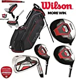 Wilson Prostaff HDX Komplette Golf Club Alle Graphit Set &