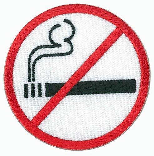 Patch wärmeklebendes Flicken Rauchen verboten - Rauchen Patch