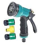 Inovera Car Washing Gardening Water Spray Gun, Green