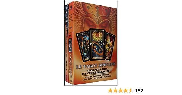 Amazon Fr Le Tarot Simplifie Apprenez A Tirer Les Cartes Pour De Bon Ellershaw Josephine Marchetti Ciro Livres